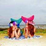 友達とマーメイド体験|沖縄旅の思い出フォトコンテスト