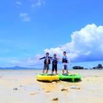 想像以上に楽しく良い運動になったウォーキングサップ|沖縄旅の思い出フォトコンテスト