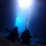 沖縄青の洞窟でダイビング|ダイビングショップレイ