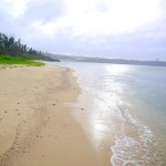隠れ処的なビーチ 与久田ビーチ(恩納村)