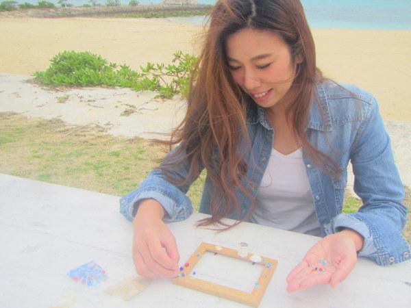 沖縄でマーメイド体験♪オリジナルフォトフレーム付き♪
